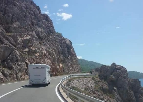 Autocaravana pela Croácia